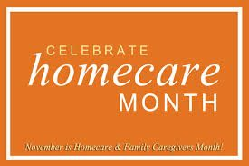November is Homecare Month