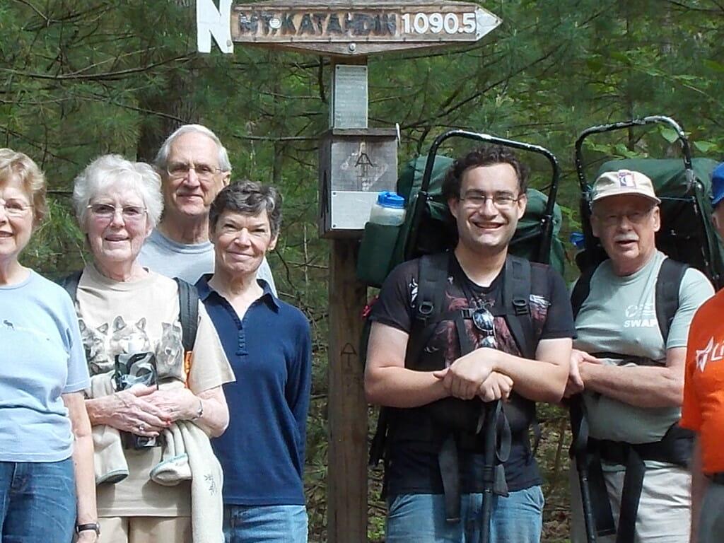 Seniors Hiking Excursion
