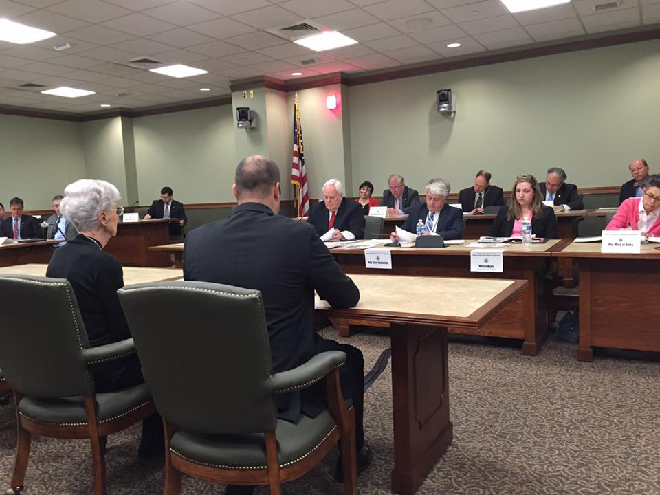 Testifying in Front of House Aging & Older Adult Services Committee