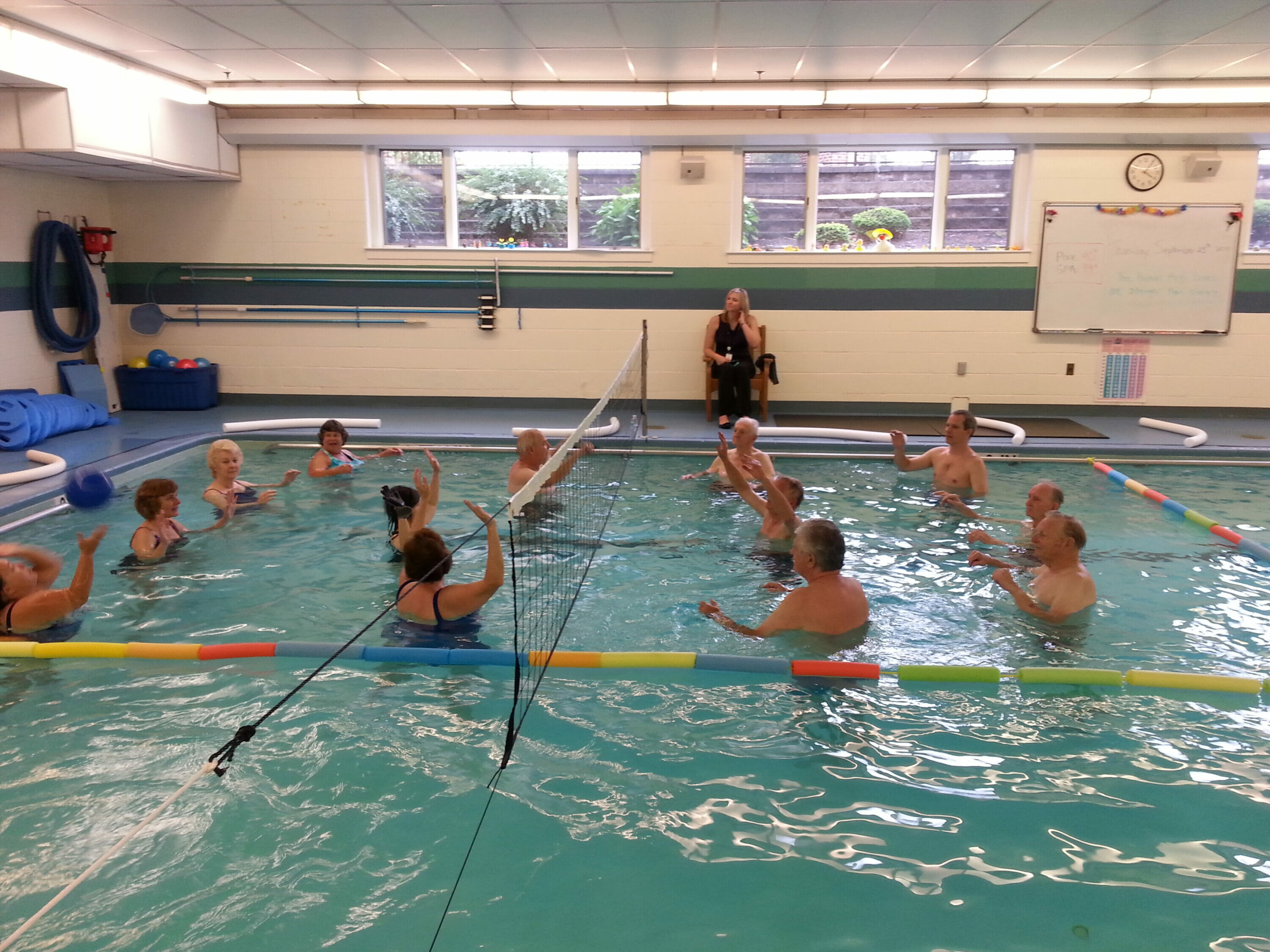 Water Volleyball for Seniors